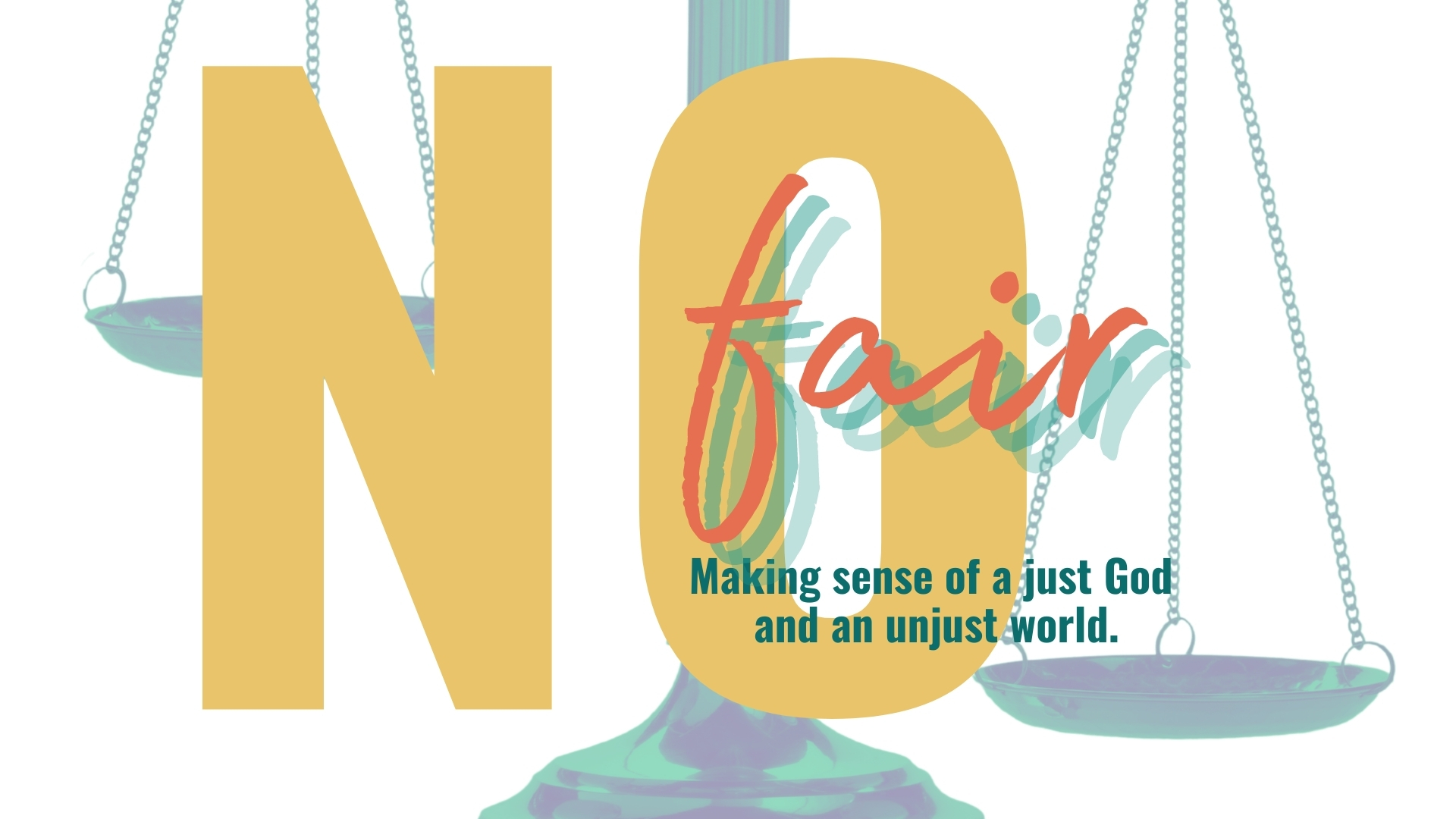 Women's Bible Class: No Fair-A Study in Job